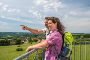 Bad Marienberg Blick vom Hedwigsturm