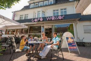 Bad Marienberg-Cafeszene