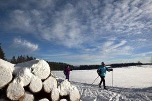 Bad Marienberg Winter Langlauf