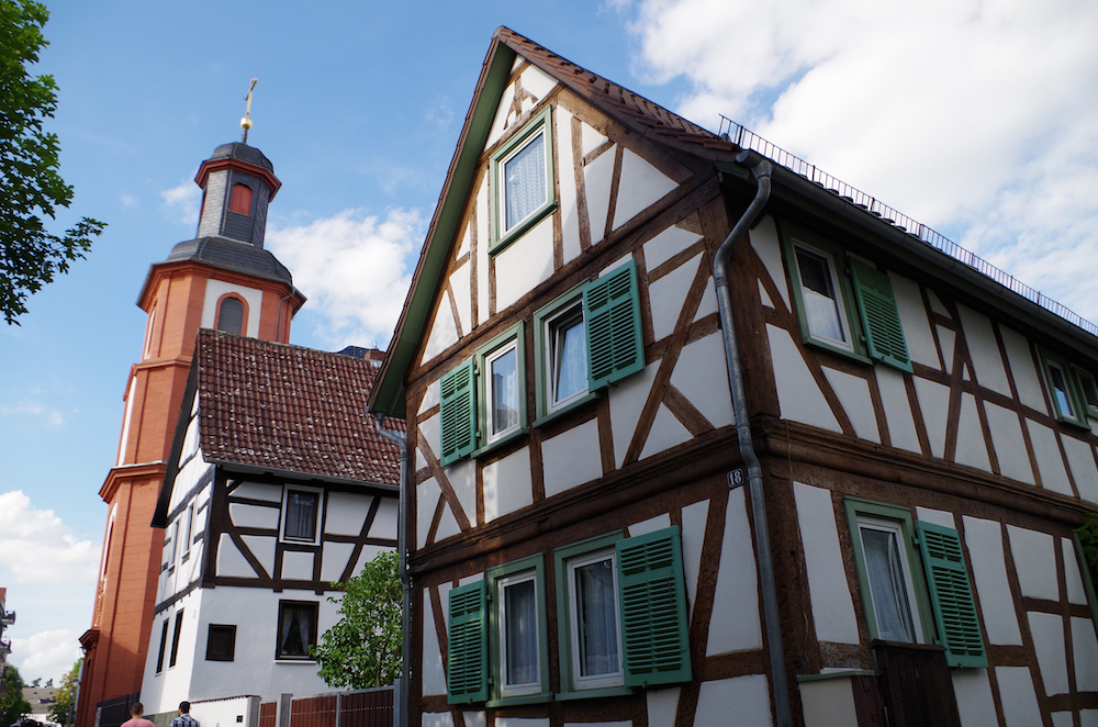 Kneippkurort Bad Nauheim zwischen Frankfurt und Taunus