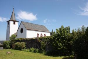 Die evangelische Kirche in Daun