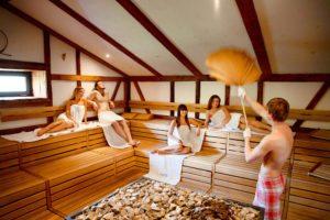 Bad Endbach in der Sauna