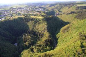 Der Liesertal Burgweiher in Manderscheid