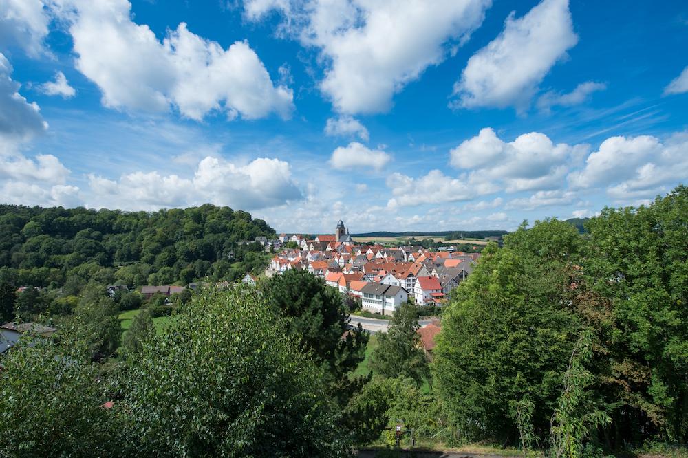 Stadtansicht von Naumburg