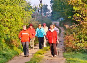 Nordic Walking in Buckow
