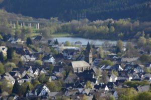 Blick auf die Stadt Olsberg