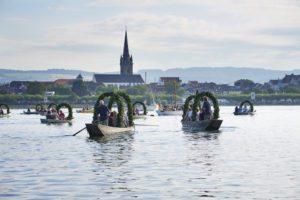 Radolfzell Hausherrenfest Mooser mit Wasserprozession