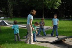 Minigolf in Weiskirchen