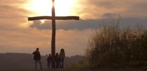Das Gipfelkreuz in Willingen