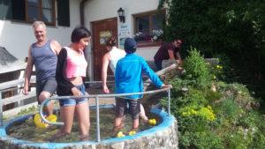 Ferienhof Ammann Wassertreten