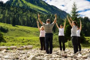 Bergvision Yoga und Naturerbelnis