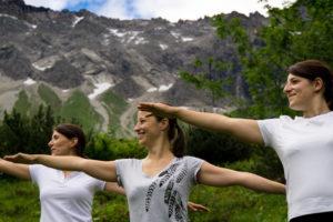 Bergvision Yoga & Naturerlebnis in den Aplen
