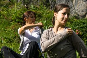 Bergvision Yoga in den deutschen Alpen