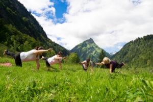 Bergvision Yoga und Naturerlebnis Yoga in den Bergen