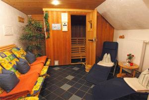 Ferienhof Ammann Sauna Ruheraum