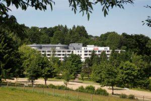 Aussenansicht Hotel am Kurpark in Brilon