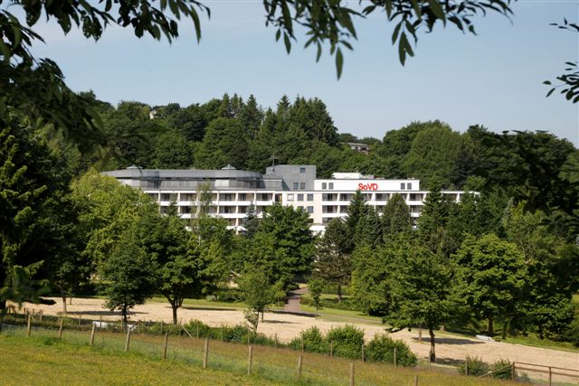 Hotel am Kurpark in Brilon liegt direkt am Kurpark in Brilon