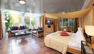 Olsberg Institut Villa Blick ins Zimmer